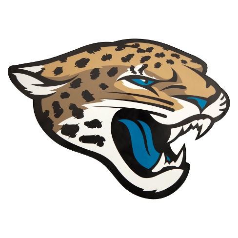 nfl jacksonville jaguars small outdoor logo decal : target