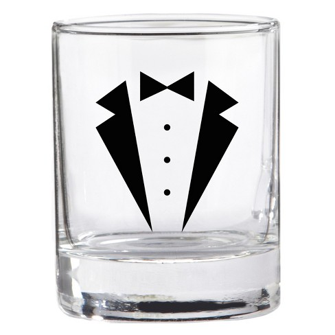 4ct Kate Aspen Tuxedo Shot Glass - image 1 of 1