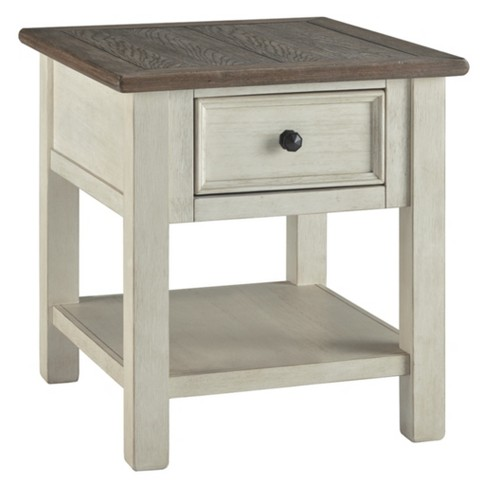 Bolanburg Rectangular End Table Brown/White - Signature Design by Ashley - image 1 of 4