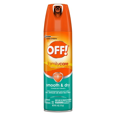 OFF! FamilyCare Smooth & Dry Insect Repellent I - 4oz/1ct - image 1 of 4