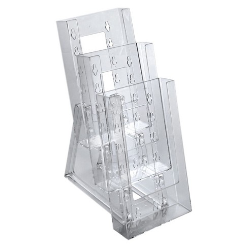 Azar® Three-tier Modular Trifold Brochure Holder 2ct - image 1 of 1