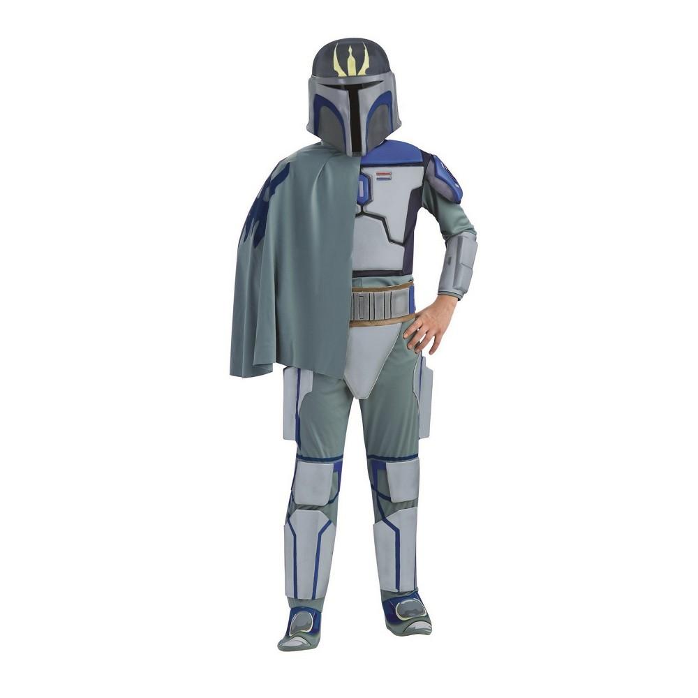 Kids' Star Wars Pre Vizsla Halloween Costume S, Boy's, Multi-Colored