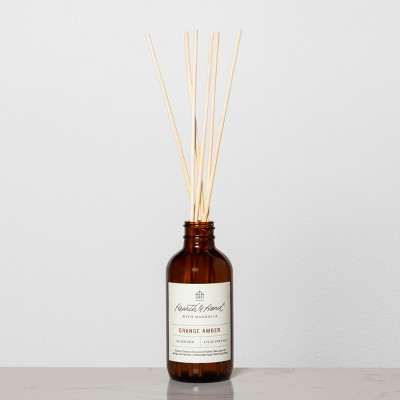 Reed Diffuser Orange Amber - Hearth & Hand™ with Magnolia