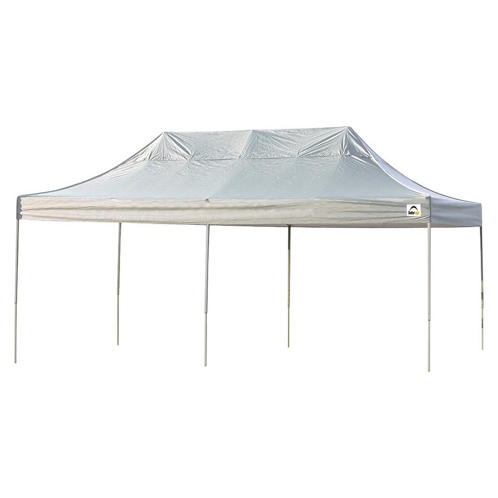 Shelter Logic 10' x 20' Pro Straight Leg Pop-Up Canopy White