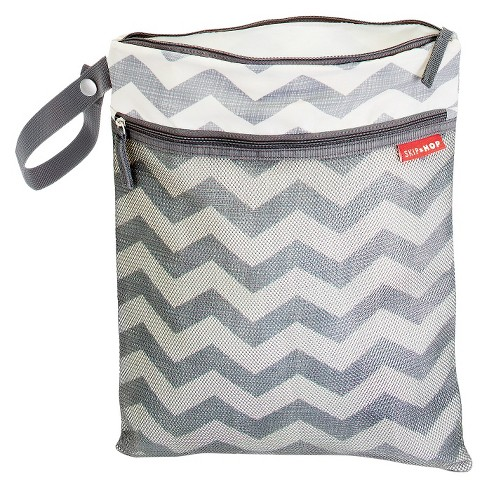 Skip Hop Grab and Go Wet/Dry Bag - Chevron - image 1 of 5