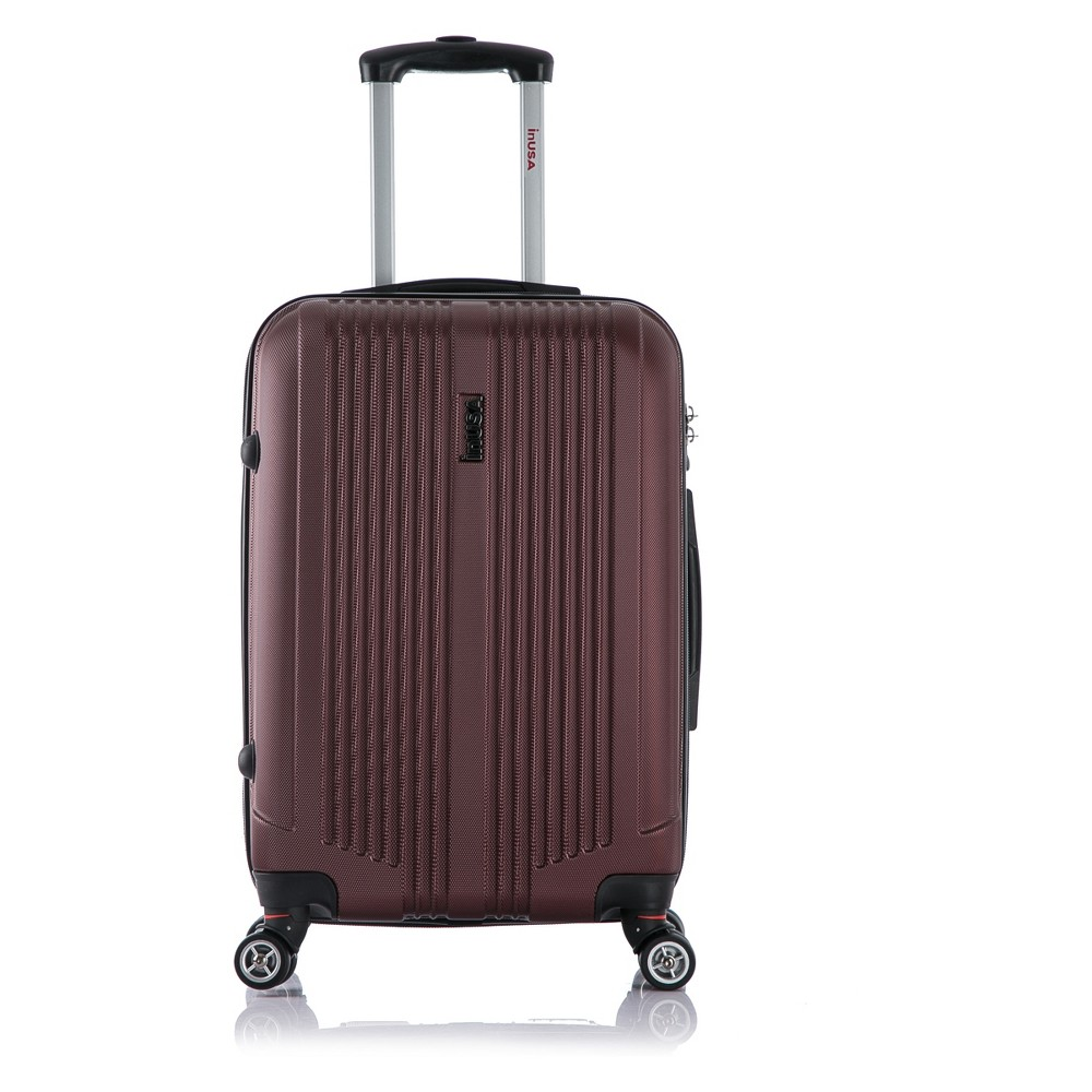 InUSA San Francisco 22 Hardside Spinner Suitcase - Wine (Red)