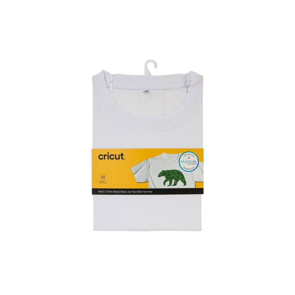 Cricut Round Neck T-Shirt White - Medium