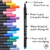 Arteza Fineliner Colored Pens Set, Inkonic, Fine Line, 0.44mm Tips, Assorted Colors - 72 Pack (ARTZ-8753) - image 3 of 4