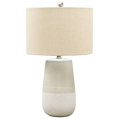 Shavon Table Lamp Beige/White - Signature Design by Ashley