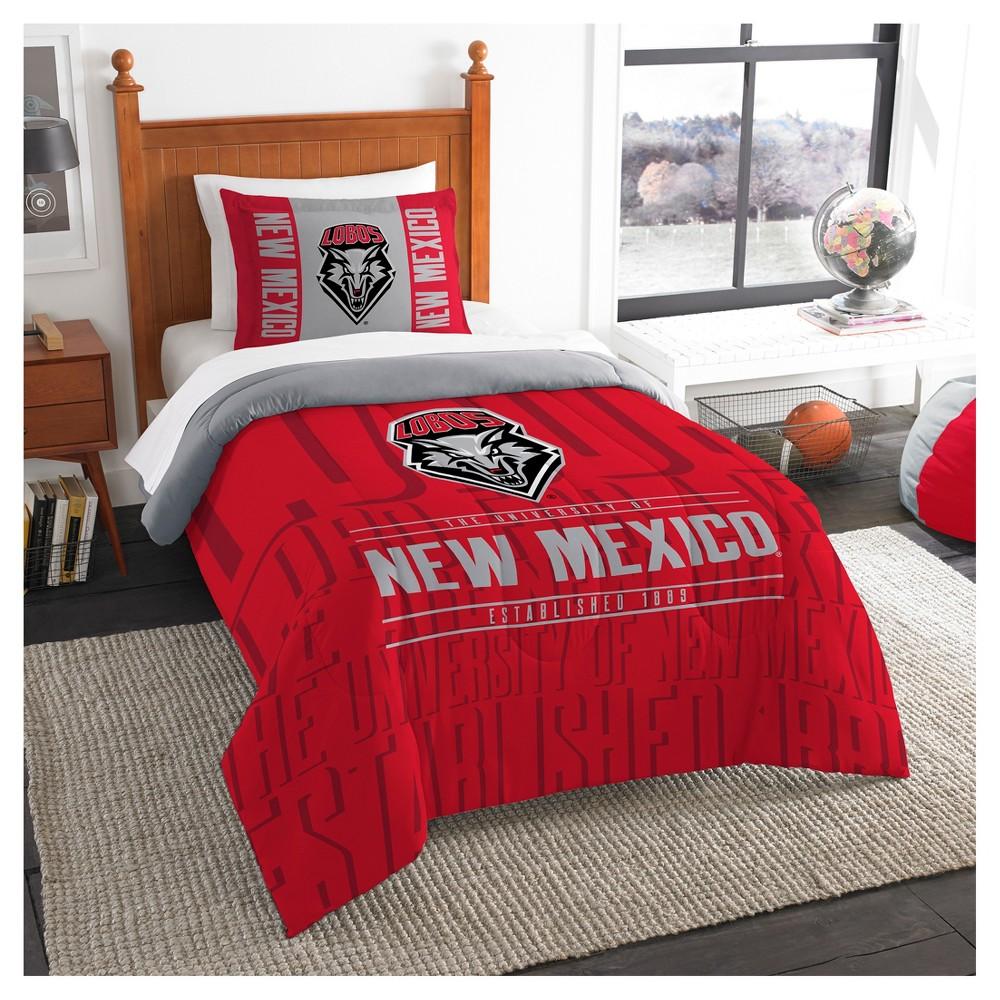 NCAA Northwest Modern Take Twin Comforter Set New Mexico Lobos - 64 x 86
