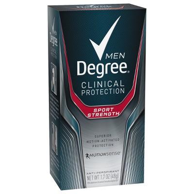 Degree Men Clinical Protection Sport Strength Antiperspirant & Deodorant Stick - 1.7oz