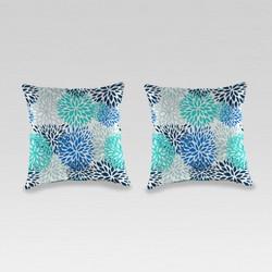 Outdoor Set of 2 Accessory Toss Pillows - Jordan Manufacturing