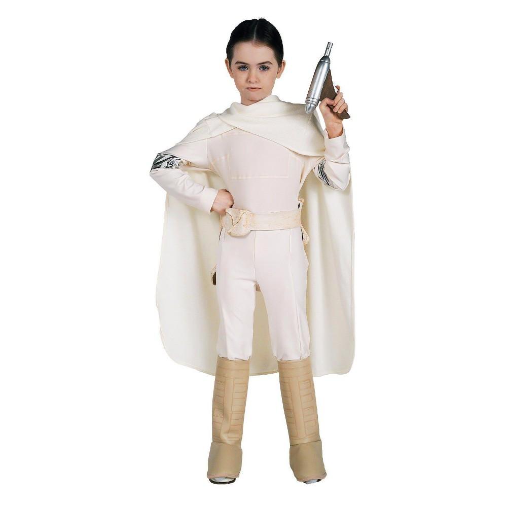 Star Wars Padme Amidala Kids' Costume Large (10-12), Girl's, Size: L(10-12), White