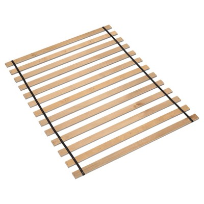 Queen Frames and Rails Roll Slats Brown - Signature Design by Ashley