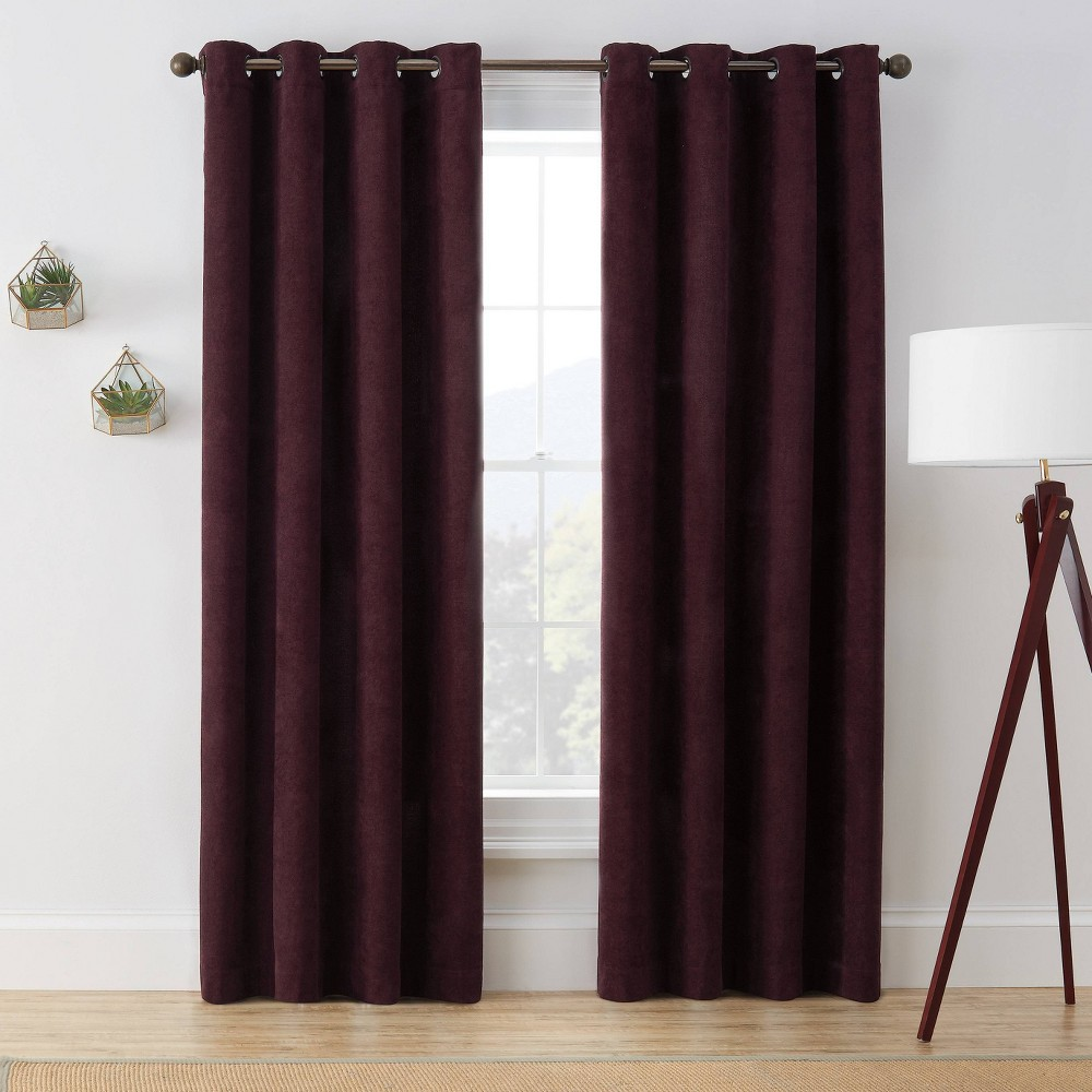 "Best 63""x50"" Marco Room Darkening Window Curtain Panel  - Brookstone"