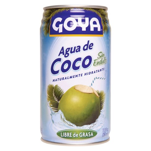 Goya Unsweetened Coconut Water - 11.8 fl oz Can - image 1 of 1