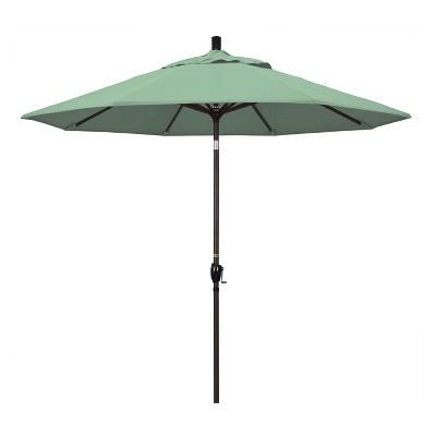 9' Aluminum Push Tilt Patio Umbrella - California Umbrella
