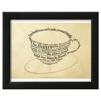 Art.com Alice In Wonderland Framed Art Print