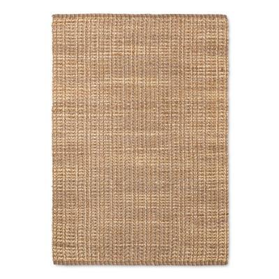 "5'X7'/60""X84"" Basket Weave Woven Area Rug - Threshold™"