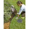"""Easy No- Dig, Pound-In, Interlocking Landscaping Edging Kit 8"""" Tall, 20' Long - Gardener's Supply Company - image 4 of 4"""