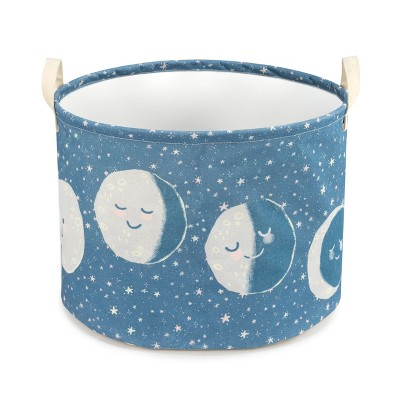 DEMDACO Moon Phases Small Hamper brown