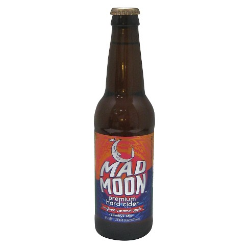 Mad Moon® Unglued Caramel Apple Semi-Sweet Cider - 4pk / 12oz Bottles - image 1 of 1