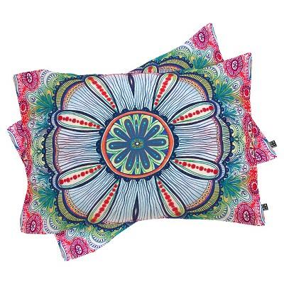 Stephanie Corfee Frolicking Pillow Sham Standard Pink - Deny Designs
