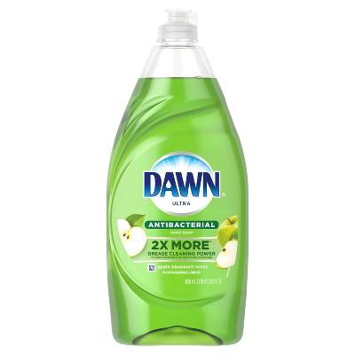 Dawn Ultra Antibacterial Dishwashing Liquid Dish Soap - Apple Blossom Scent - 28 fl oz