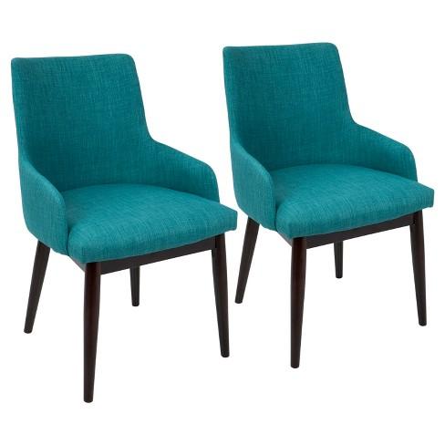 Santiago Mid Century Modern Dining Accent Chair