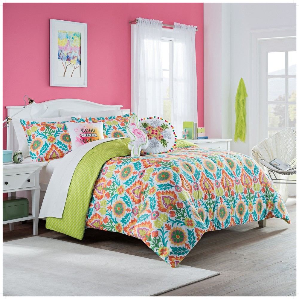 2pc Twin Santa Maria Reversible Comforter Sets - Spree By Waverly was $67.99 now $39.99 (41.0% off)