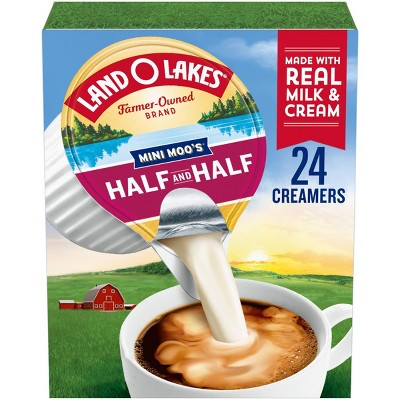 Land O Lakes Mini Moo's Half & Half Creamer - 7.3 fl oz/24ct