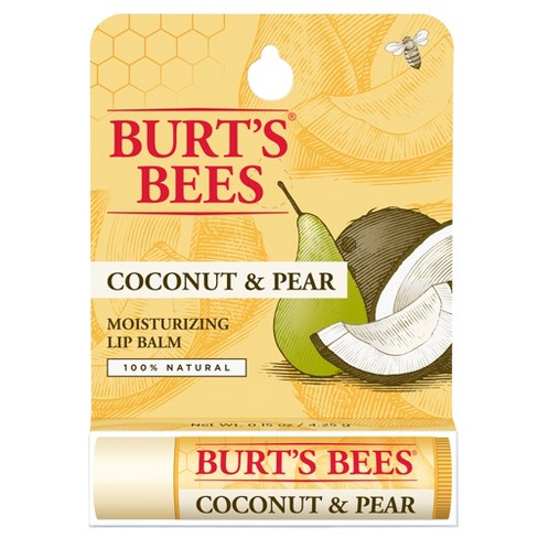 Burt's Bees Coconut and Pear Lip Balm Blister Box - 0.15 oz - image 1 of 5