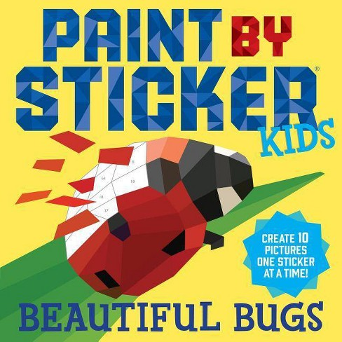 Paint By Sticker Kids Beautiful Bugs 03/28/2018 - image 1 of 1