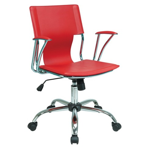 Dorado Office Chair Red - Office Star - image 1 of 1