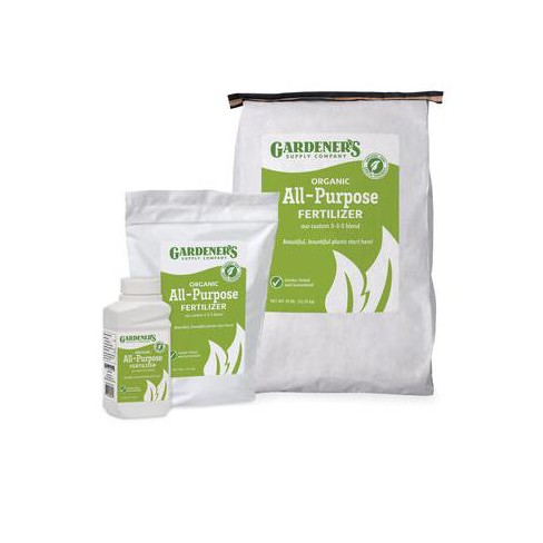 Organic All-Purpose Fertilizer, 25 Lbs. - Gardener's Supply Company - image 1 of 1