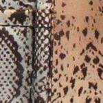 brown snake print