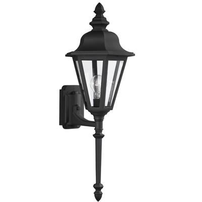 Generation Lighting Brentwood 1 light Black Outdoor Fixture 8823-12