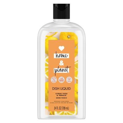 Love Home & Planet Citrus Yuzu & Vanilla Dish Liquid   24 Fl Oz by Love Home And Planet