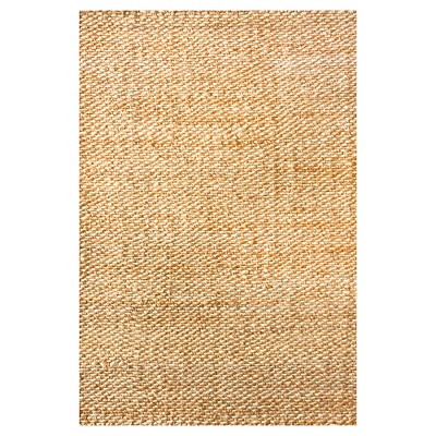 nuLOOM Hand Woven Hailey Jute Area Rug - Off-White (10' x 14')