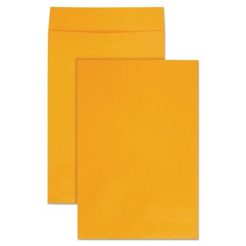 Quality Park Jumbo Size Kraft Envelope 12 1/2 x 18 1/2 Brown Kraft 25/Pack 42353 - image 1 of 1