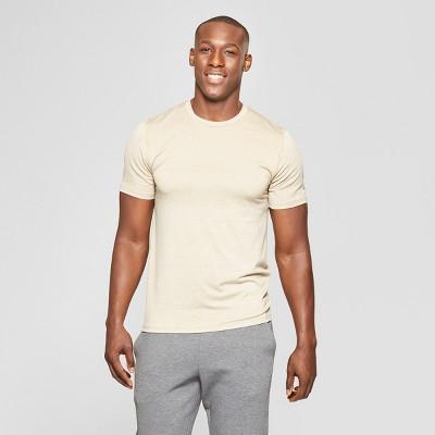 a1bc4de5 Men's Short Sleeve Jacquard Training T-Shirt - C9 Champion® Khaki ...