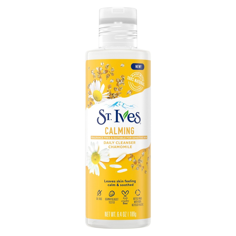 Image of St. Ives Calming Chamomile Daily Cleanser - 6.4oz