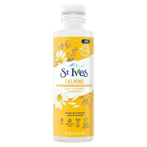St. Ives Calming Chamomile Daily Cleanser - 6.4oz - image 1 of 4