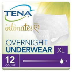 TENA Incontinence Underwear - Overnight - XLarge - 12 Ct