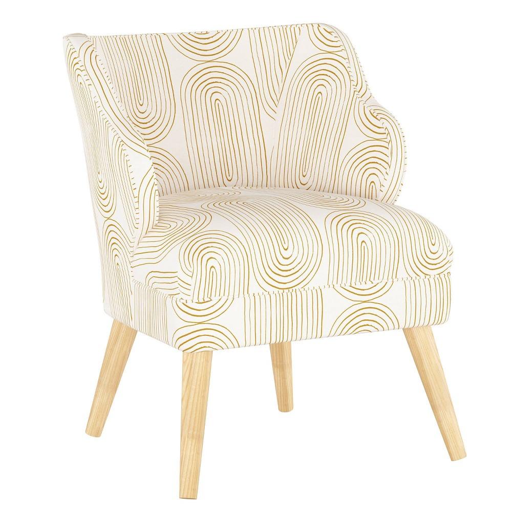 Mandolene Accent Chair Oblong Mustard Project 62 8482