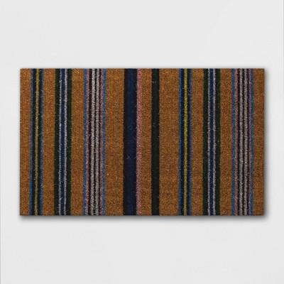 Door Mat Multi Stripe - Threshold™