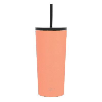 Simple Modern 24oz Classic with Straw Lid Grapefruit