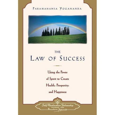 Law of Success - by  Paramahansa Yogananda (Paperback) - image 1 of 1