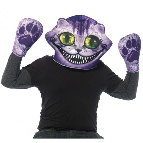 Leg Avenue Alice in Wonderland Cheshire Cat Foam Mask and Matching Paw Gloves - image 1 of 1
