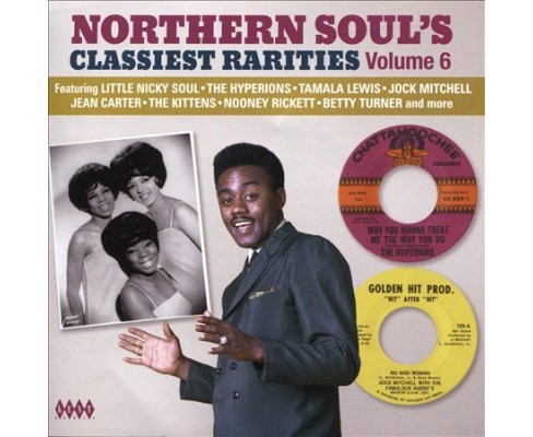 Various - Northern Soul's Classiest Rarities:V6 (CD) - image 1 of 1